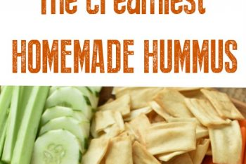 The creamiest homemade hummus