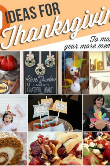 10 fun ideas for Thanksgiving this year