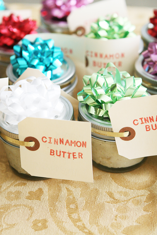 Cinnamon butter | 25+ neighbor gift ideas