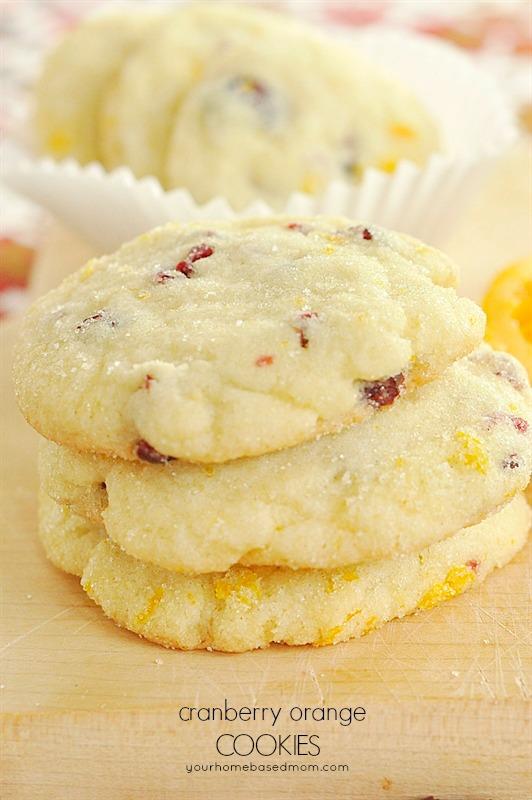 Cranberry Orange Cookies   25+ Christmas Cookie Exchange Recipes