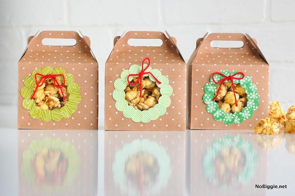 DIY Christmas boxes | NoBiggie.net
