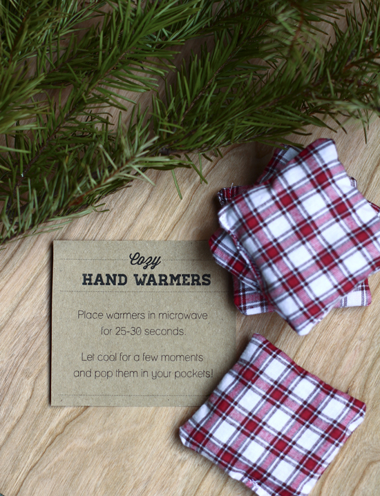 DIY Hand warmers | 25+ neighbor gift ideas