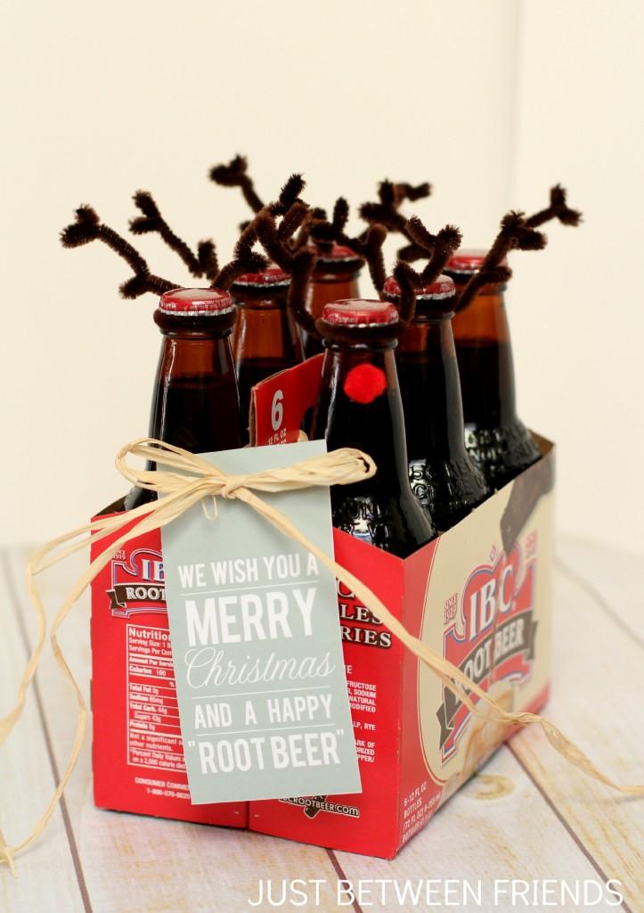 Happy root beer | 25+ neighbor gift ideas