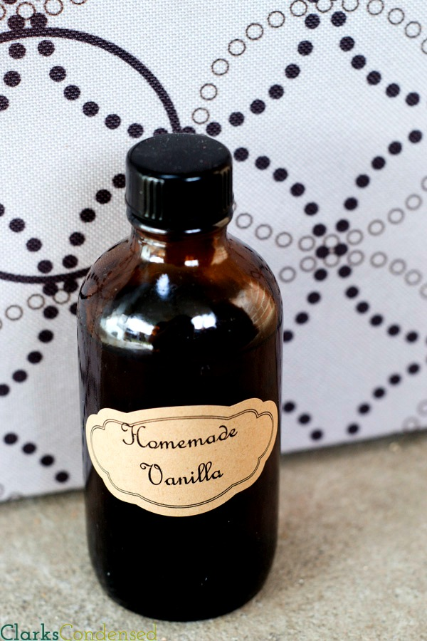 Homemade vanilla | 25+ neighbor gift ideas