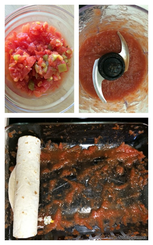 How to make sweet pork enchiladas | NoBiggie.net