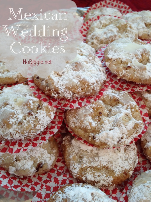 Mexican Wedding Cookies | 25+ Christmas Cookie Exchange Recipes