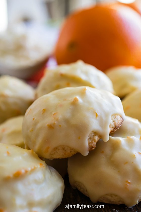 Orange Ricotta Cookies | 25+ Christmas Cookie Exchange Recipes