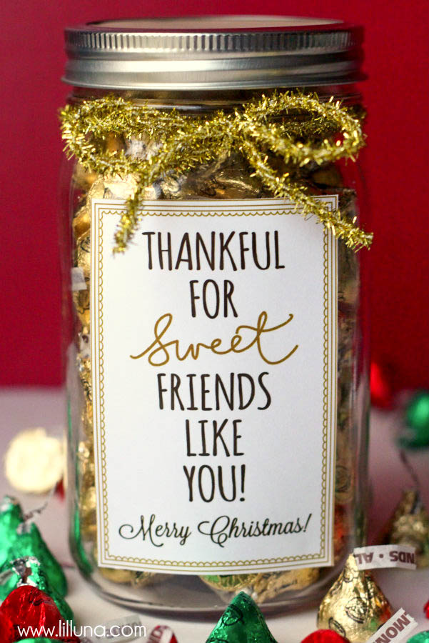 Thankful for sweet friends like you | 25+ neighbor gift ideas