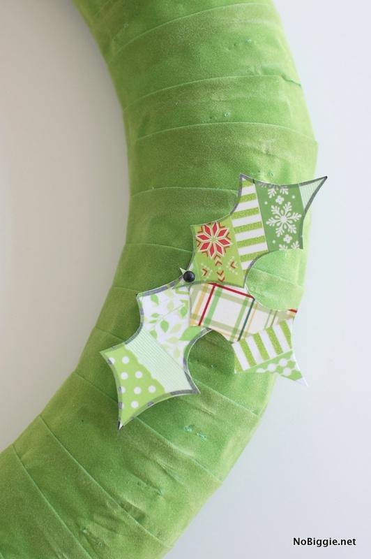 Washi Tape Christmas Wreath How - To   NoBiggie.net