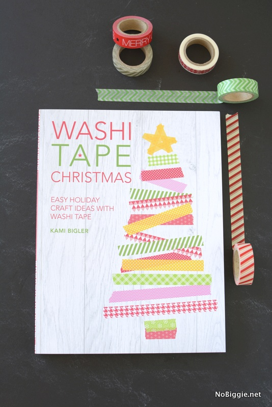 Washi Tape Christmas the book | NoBiggie.net