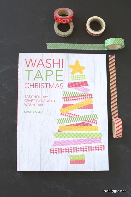 Washi Tape Christmas the book | NoBiggie.net