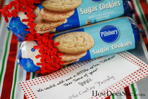 We could all use a little extra dough | 25+ neighbor gift ideas