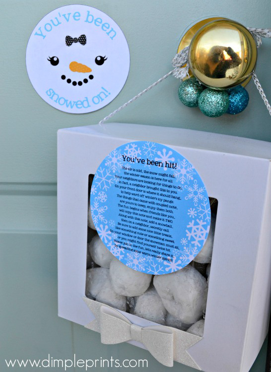 You've been snowed on | 25+ neighbor gift ideas