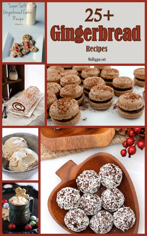 25+ Gingerbread Recipes - NoBiggie.net