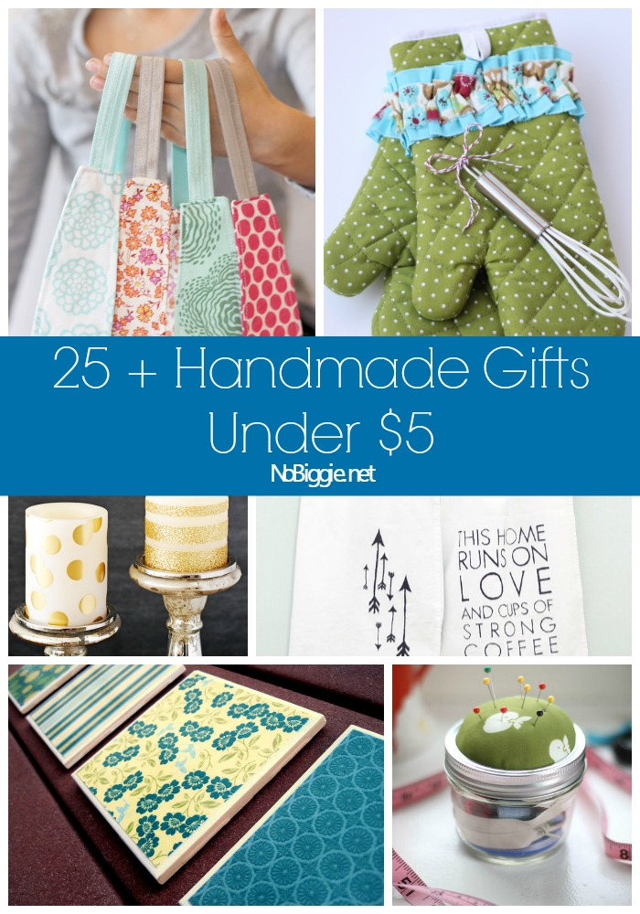 25 handmade gift ideas under 5 - Christmas Gifts Under 5 Dollars
