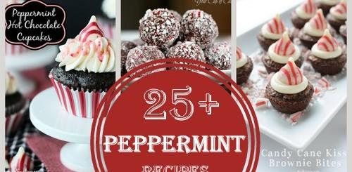 25+ Peppermint recipes