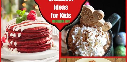 25+ Fun Christmas Breakfast Ideas for Kids | No Biggie