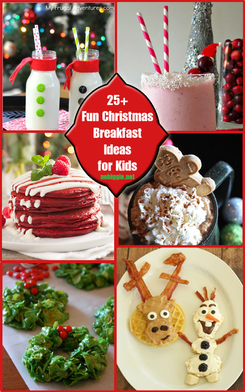 25+ Fun Christmas Breakfast Ideas for Kids | No Biggie