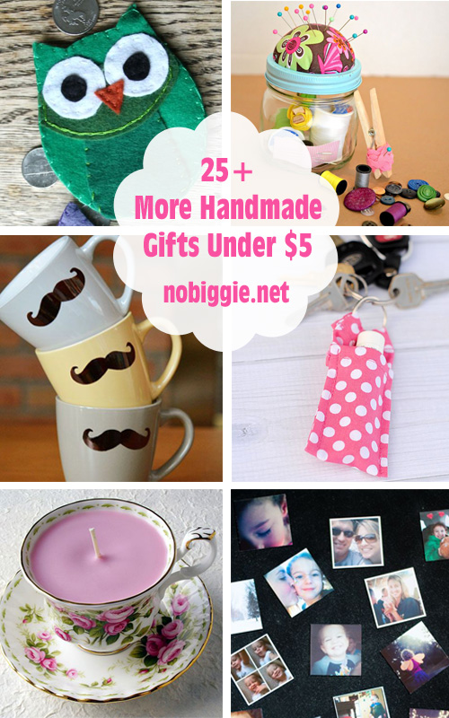 25 More Handmade Gift Ideas Under 5