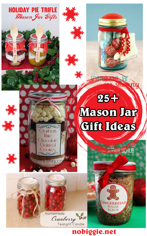 Mason jar gift ideas christmas