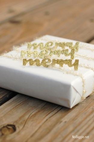 5 festive ways to wrap a gift | NoBiggie.net