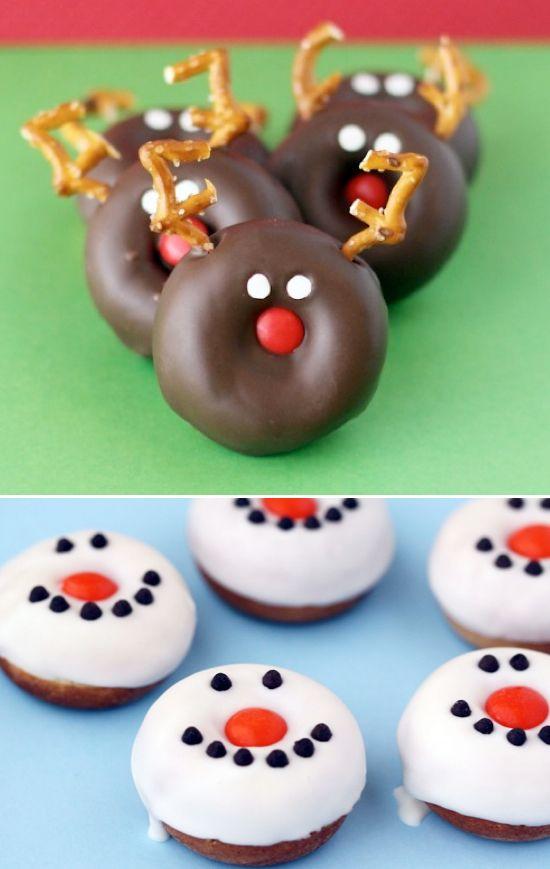 Christmas Donut Ideas 25+ Fun Christmas Breakfast Ideas for Kids | NoBiggie.net