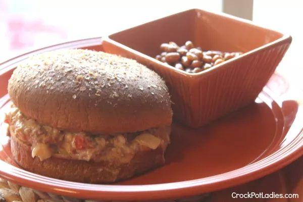 Crockpot cheeseburger Joes | 25+ Slow Cooker Recipes Kids Love