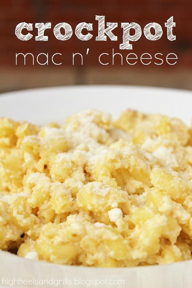 Crockpot mac & cheese recipe| 25+ Slow Cooker Recipes Kids Love