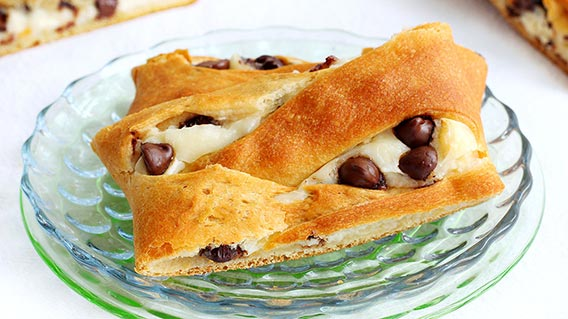 DIY Chocolate Chip Danish 25+ Fun Christmas Breakfast Ideas for Kids | NoBiggie.net