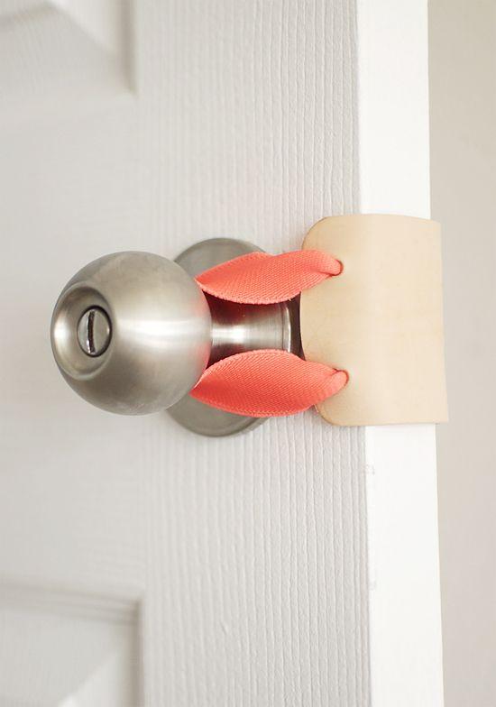 DIY No-Sew Door Muff | 25+ More Handmade Gift Ideas Under $5