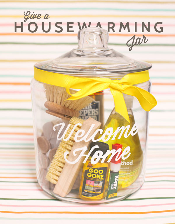House warming Jar gift | 25+ More Handmade Gift Ideas Under $5