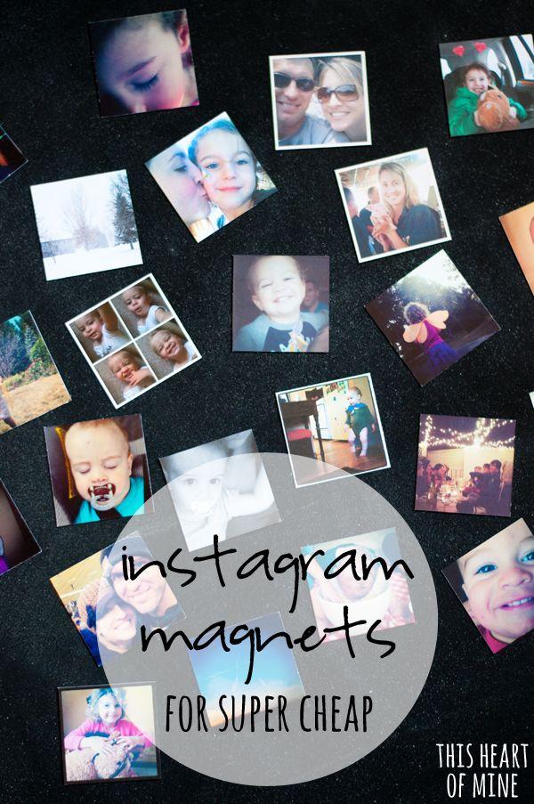 Instagram Magnets for Super Cheap | 25+ More Handmade Gift Ideas Under $5