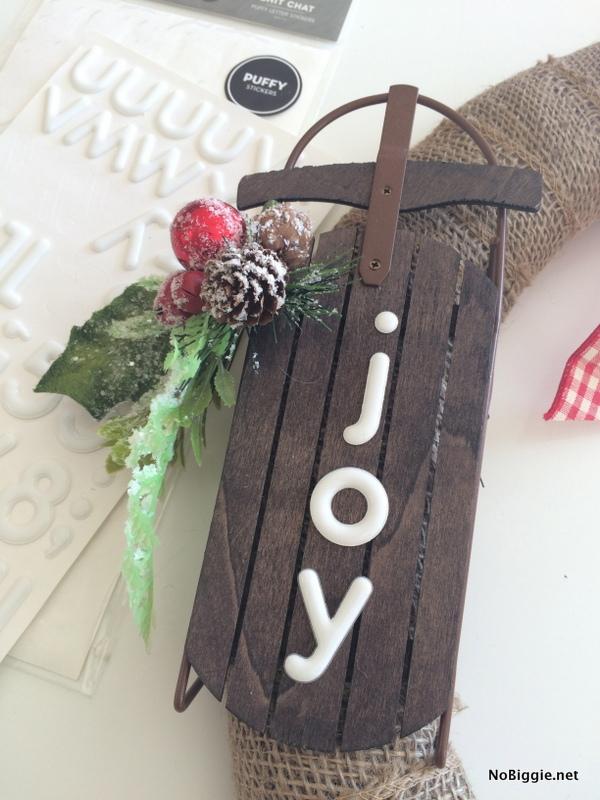 JOY sleigh | NoBiggie.net