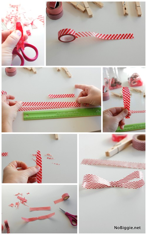 Learn how to make a washi tape bow | NoBiggie.net