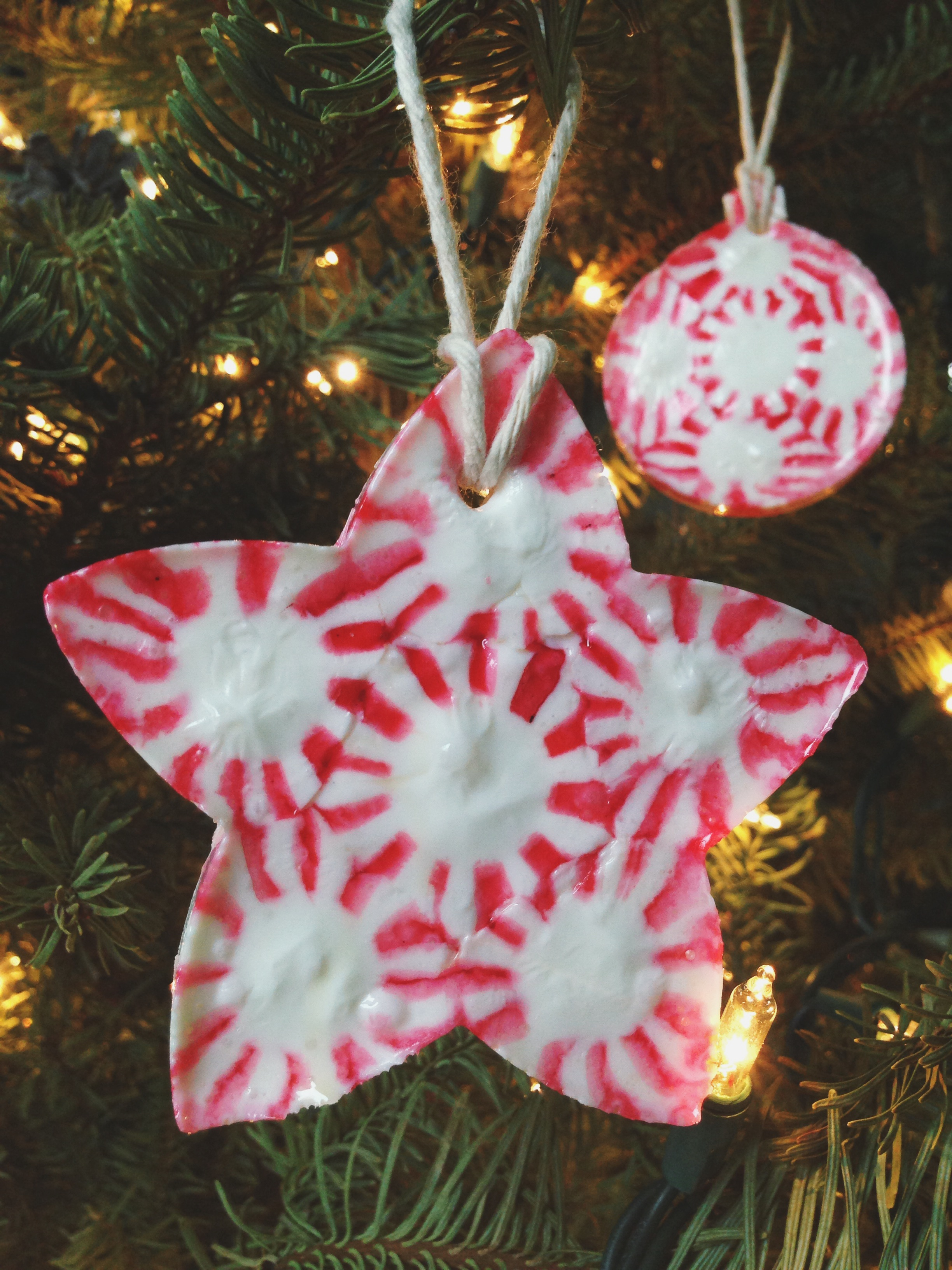 Handmade glass christmas ornaments - Peppermint Candy Ornament 25 Beautiful Handmade Ornaments