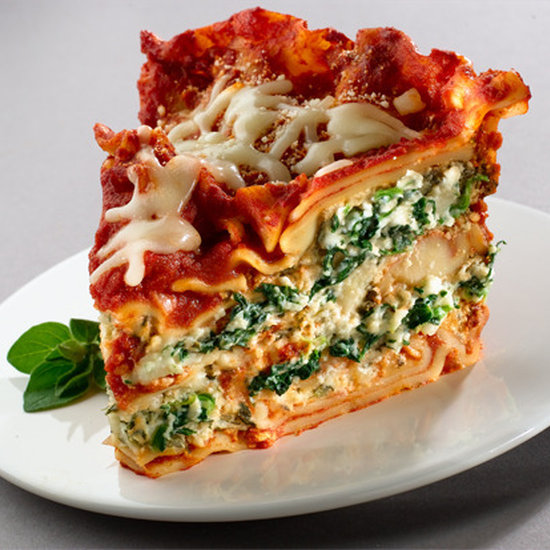 Slow cooker spinach lasagna | 25+ Slow Cooker Recipes Kids Love