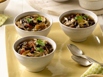 Slow cooker tortilla soup | 25+ Slow Cooker Recipes Kids Love