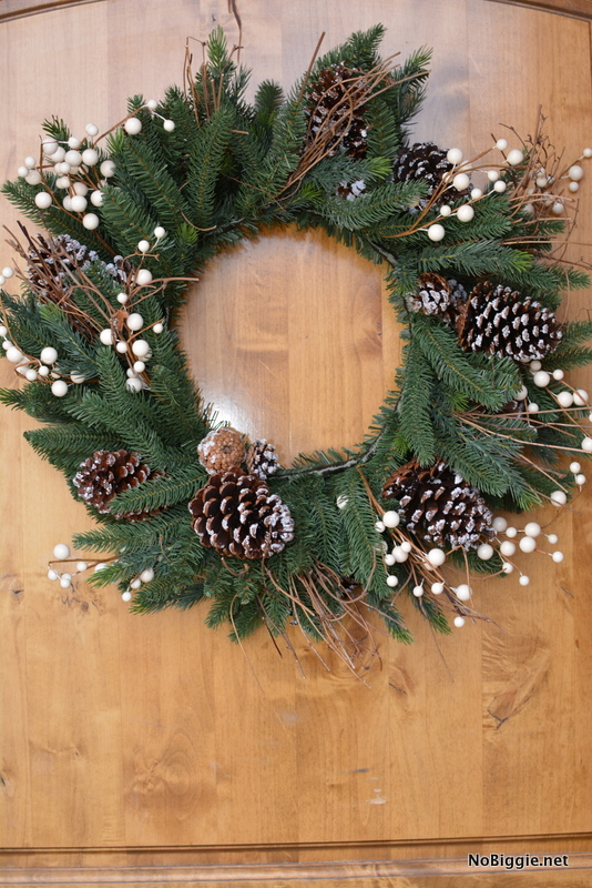 Winter Harvest Pine wreath | NoBiggie.net