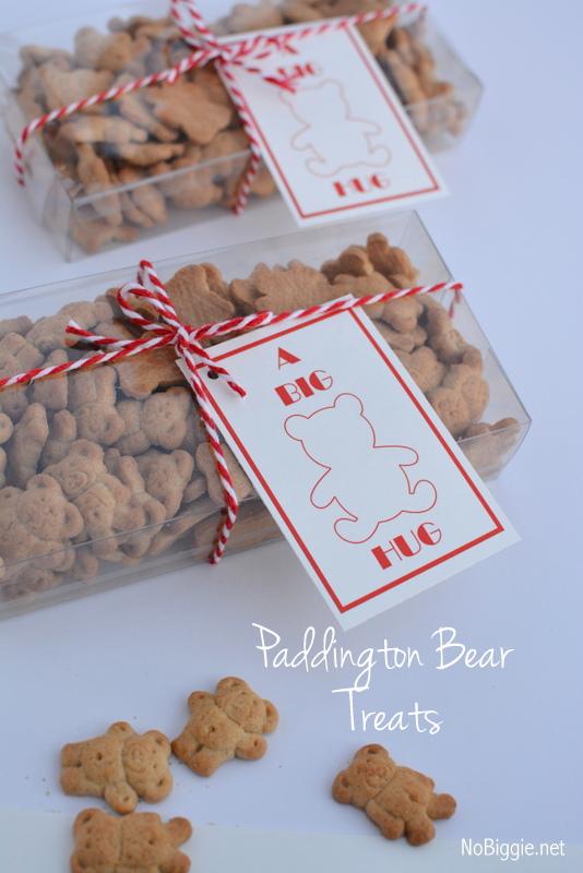 Paddington Bear Treats with free printable