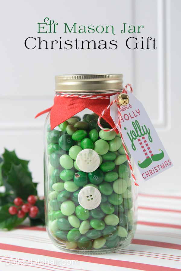 elf mason jar gift idea 25 mason jar gift ideas