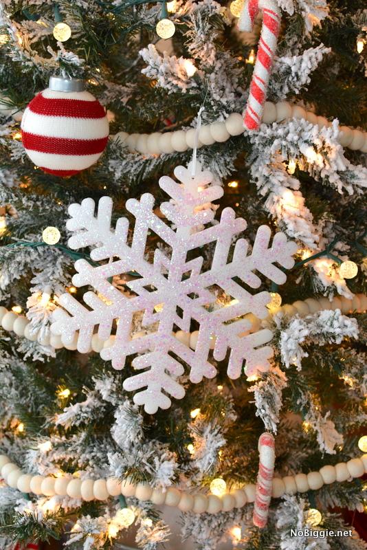 giant foam glittered snowflakes | NoBiggie.net