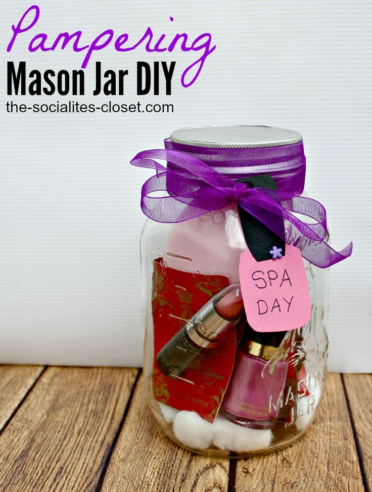 pampering mason jar diy 25 mason jar gift ideas