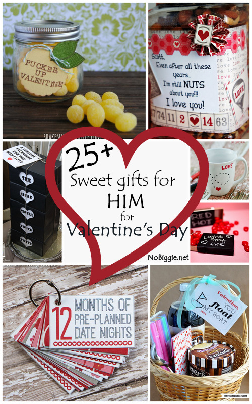 25+ Sweet Gifts for Him for Valentine's Day - NoBiggie.net