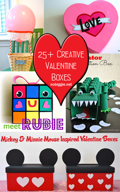 creative Valentine Boxes that your little one will be excited to bring to school! #valentinesday #valentineboxes #mailboxes #valentineexchange