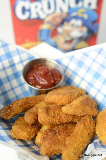 Cap'n Crunch chicken tenders