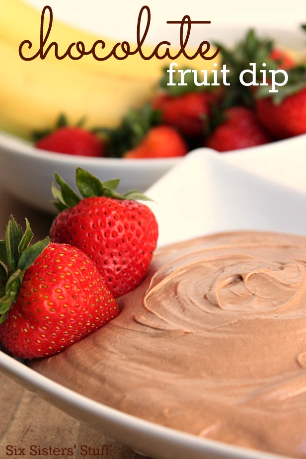 Chocolate fruit dip | 25+ Chocolate Lover Recipes