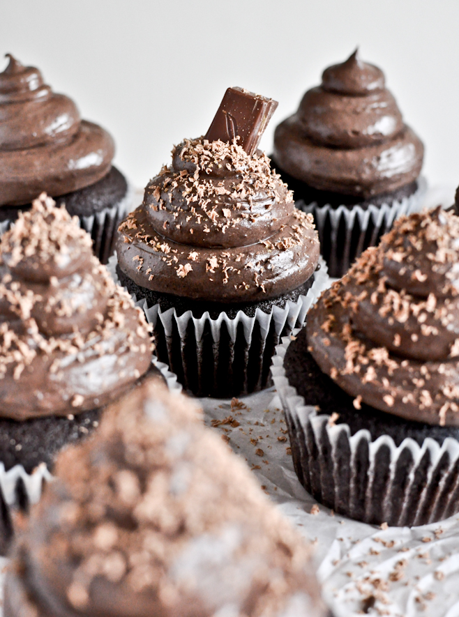 Chocolate lover's cupcakes | 25+ Chocolate Lover Recipes