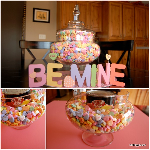 Conversation Heart candy | Valentines Day decoration | NoBiggie.net