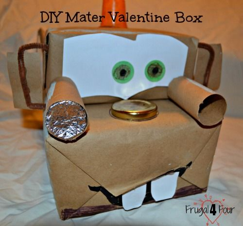 Easy Car Valentine S Day Boxes