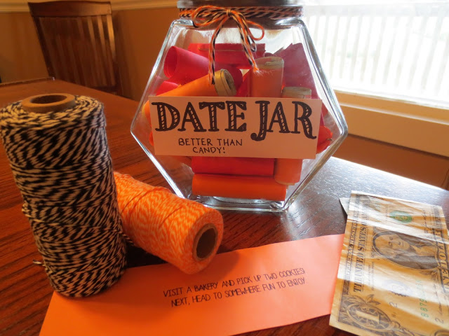Date Jar - 25+ Sweet Gifts for Him for Valentine's Day - NoBiggie.net